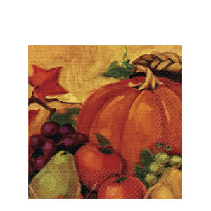 Harvest Still Life Luncheon Napkins