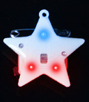 Flashing Patriotic Star Blinky