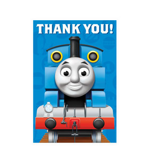 Thomas and Friends Postcard Thank You Cards- 8ct