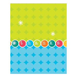 Time to Party Thank You Cards - 8ct