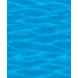Ocean Blue Room Roll- 40ft