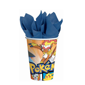 Pokemon 9 oz. Cups- 8ct