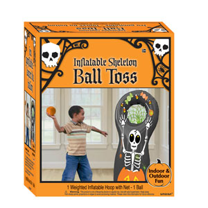 Halloween Inflatable Ball Toss- 2pc