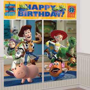 Toy Story 3 Scene Setters- 5pc