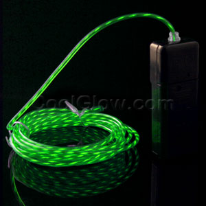 EL Motion Wire - Green 2 Yard