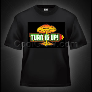 LED Sound Activated T-Shirt - Turn It Up
