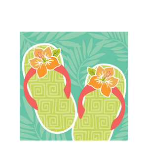 Paradise Luncheon Napkins- 16ct