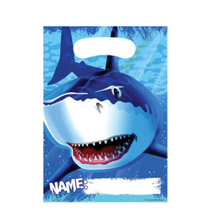 Shark Splash Loot Bags- 8ct