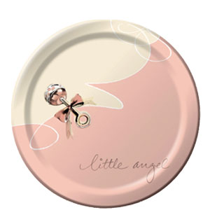 Little Angel 9 Inch Plates