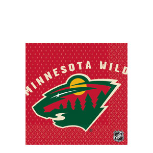 Minnesota Wild Luncheon Napkins- 16ct