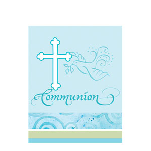 Communion Invitations - Blue