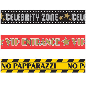 Hollywood Party Tape- 3ct
