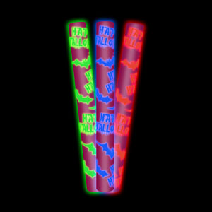 LED Foam Stick Baton - Purple Bats