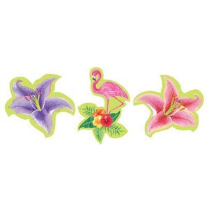 Hibiscus Heat Cutout Assortment- 3ct