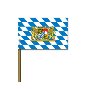 Bavarian Flag- 6in