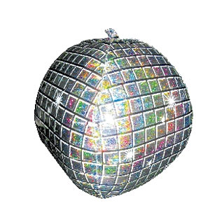 Disco Ball Balloon- 22 Inch
