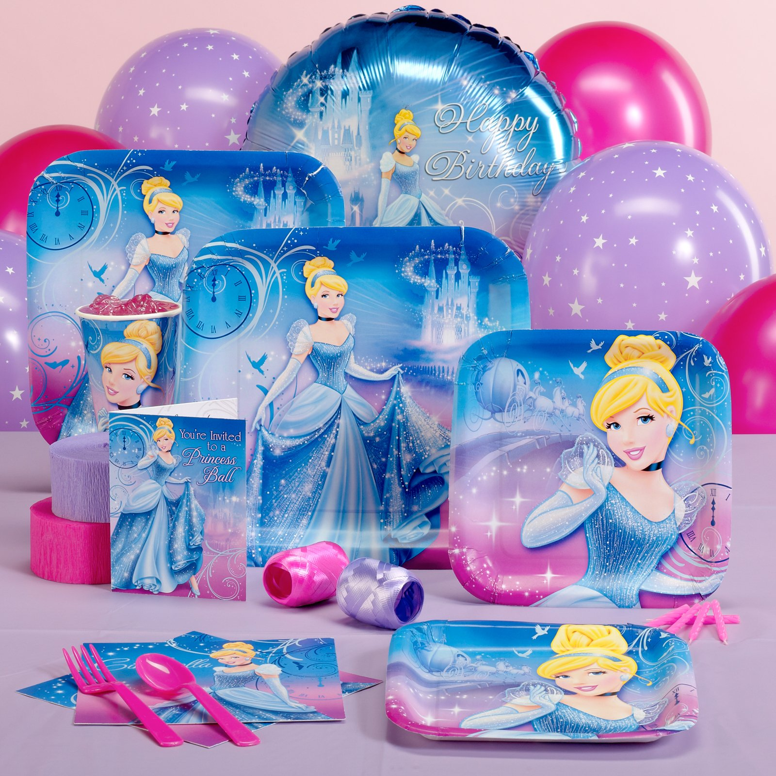 Disney Cinderella Sparkle Pack for 8