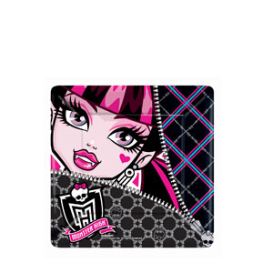 Monster High Square 7 Inch Plates