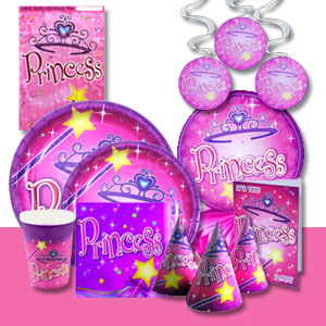 Princess Party Tableware Pack