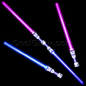 Fun Central M847 LED Light Up Dual Saber - Multicolor