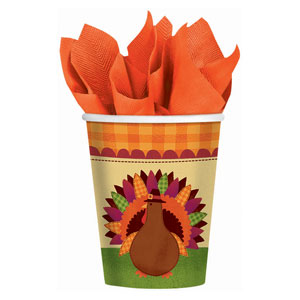 Give Thanks 9 oz. Cups- 18ct