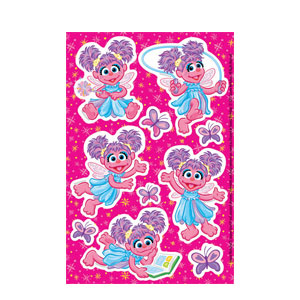 Abby Cadabby Stickers- 2ct