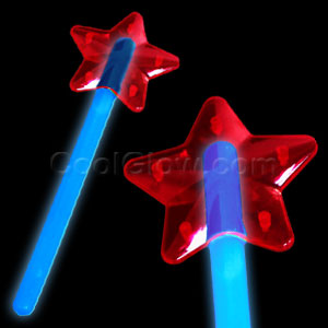 Glow Star Wand - Blue