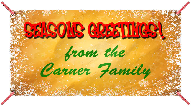 Golden Snow 'Seasons Greetings' - Custom Banner