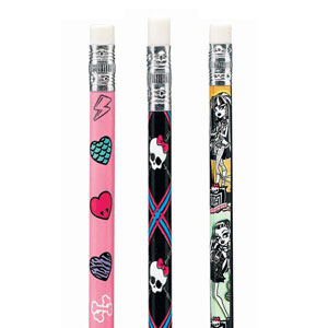 Monster High Pencils- 12ct