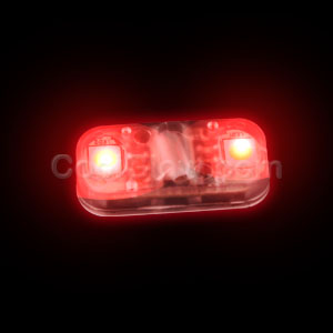 Fun Central AC930 LED Light Up Motion Activated Light Chip - Red