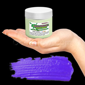Glominex Glow Paint Invisible Day 8 oz Jar Purple