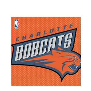 Charlotte Bobcats Luncheon Napkins
