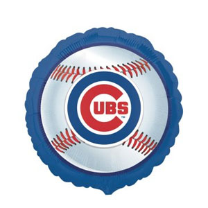 Chicago Cubs Balloon- 18in