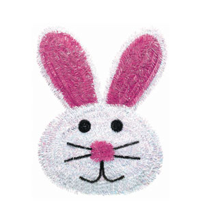 Bunny Tinsel Wreath