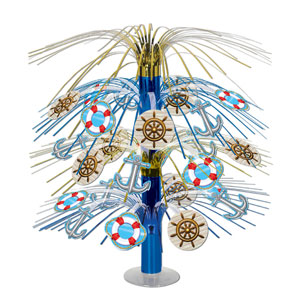 Nautical Cascade Centerpiece- 18in