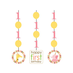 Sweet at One Hanging Cutouts - 3ct