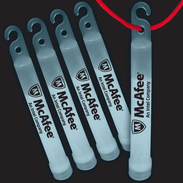 4 Inch Premium Glow Sticks - White