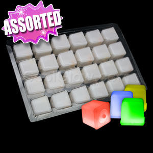 Glowing Ice Cubes - Assorted