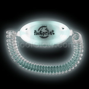 LED Stretchy Bracelet - White