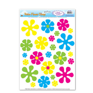 Retro Flower Peel n Place - 15in