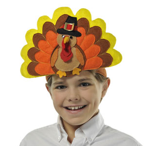 Turkey Day Headband- 12 Inch