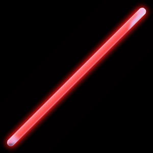 Fun Central F4 16 Inch Glow in the Dark Stick - Red