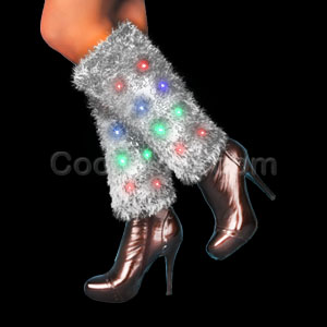 LED Leg Warmers - Muticolor