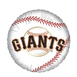 San Francisco Giants Balloon- 18in