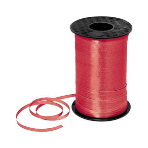 Red Curling Ribbon- 500yds