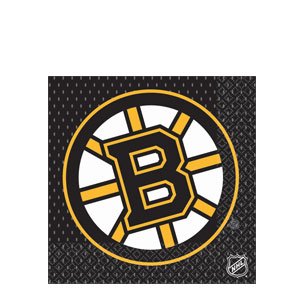 Boston Bruins Luncheon Napkins- 16ct