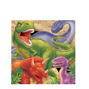 Dino Blast Luncheon Napkins- 16ct