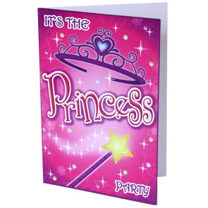 Princess Invitations - 8 ct