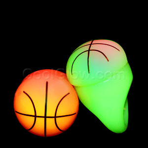 LED Jelly Basketball Rings - Assorted