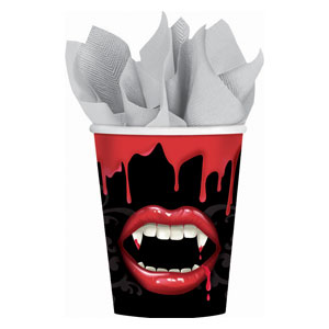 Fangtastic 9 oz. Cups- 18ct